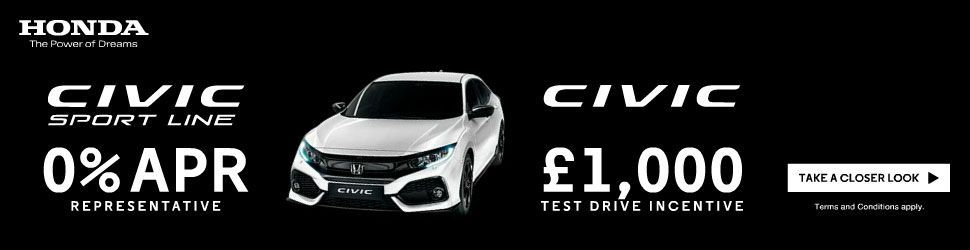 honda civic test drive deal